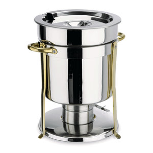 M & T  Soup- or sauce chafing dish 8 liter