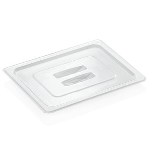 M & T  Lid GN 1/2 transparent for black PC inserts