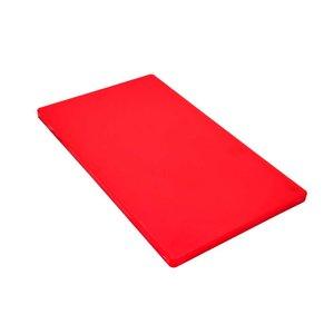 M & T  Snijplank GN 1/1 dikte 2 cm rood polyethyleen