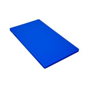 M & T  Snijplank GN 1/1 dikte 2 cm blauw polyethyleen