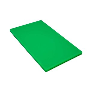 M & T  Snijplank GN 1/1 dikte 2 cm groen polyethyleen