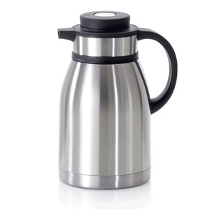 M & T  Insulated jug 1,2 liter double walled with pressure cap in lid