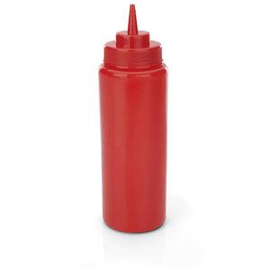 M & T  Knijpfles rood set van 6 stuks, inhoud 95 cl