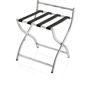 M & T  Luggage rack Porto with black nylon straps