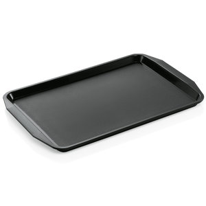 M & T  Tray with handles 45 x 32 x 2 cm PP black