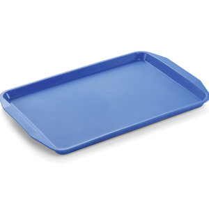 M & T  Tray with handles 45 x 32 x 2 cm PP blue