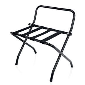 M&T Luggage rack black 650(H) x 500(L)mm