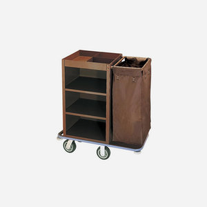 M & T  Roommaid- housekeeping trolley with one laundry bag