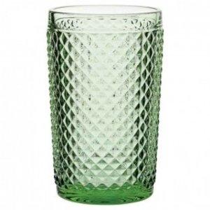 M & T  Dante High ball 39 cl  groen emerald