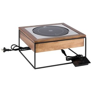 M & T  Inductie station 8 delig met rode chafing dish