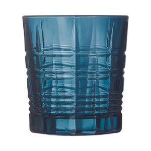 ARCOROC  Water & cocktail glas 30 cl Brixton London blauw