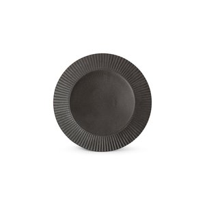 "M & T  Plat bord Ø 26 cm  ""Aurora black """