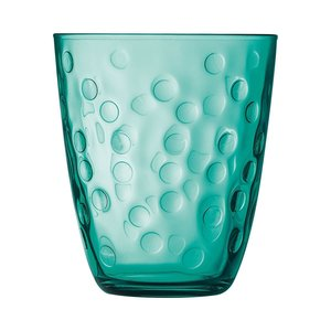 "LUMINARC  Water - en frisdrank glas 31 cl "" Concepto Bulle Pepite "" groen"