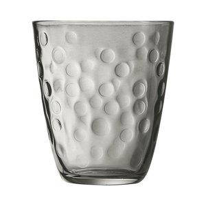 "LUMINARC  Water - en frisdrank glas 31 cl "" Concepto Bulle Pepite "" grijs"