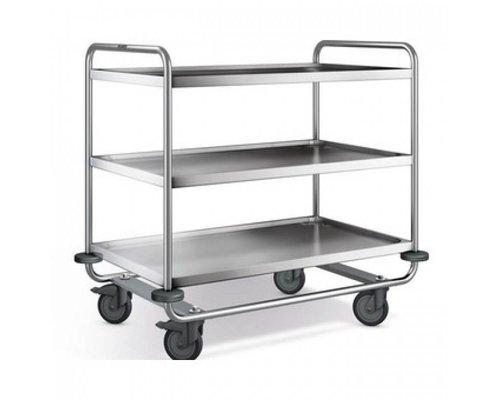 BLANCO Trolley reinforced model with three trays