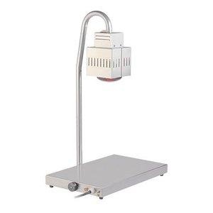 CATERCHEF Warmhoudplaat met warmhoudlamp