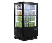 Polar Chilled display cabinet 68 liter black