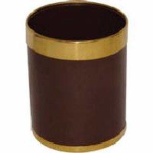 M&T Waste bin brown metal