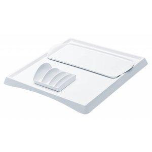 M&T Tray white 315x145x17 mm