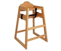 M&T Chaise bébé en bois