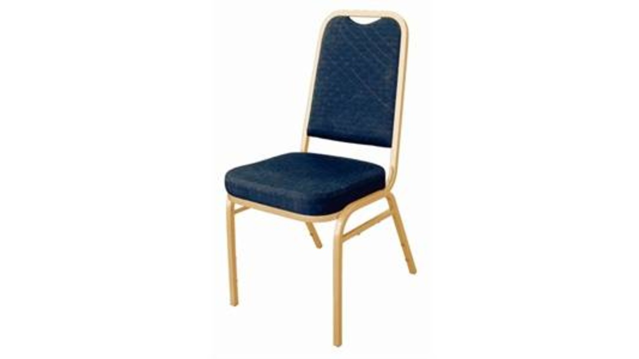 M T Banquet And Seminar Chair Blue Stackable
