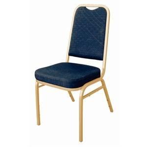 M&T Banquet stoel blauw stapelbaar