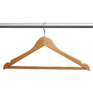 M&T Coathanger wood with hook