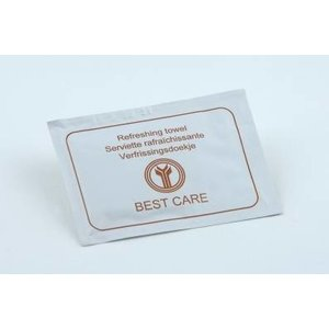 BEST CARE Onthaalproducten  Refreshing towel Best Care