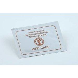 BEST CARE Onthaalproducten  Verfrissingsdoekje Best Care