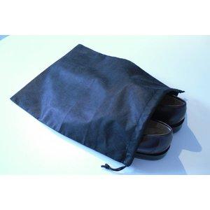 Shoebag black non woven PP