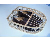M&T Shoebasket wicker