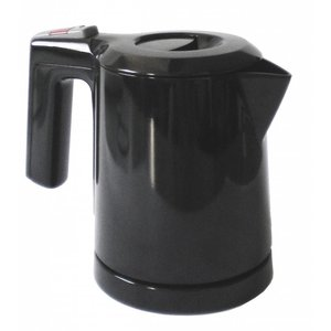 Water kettle black 0.5L