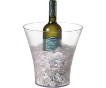 Wine and champagne cooler plastic