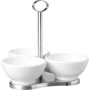 APS Stand met 3 ronde melamine bowls