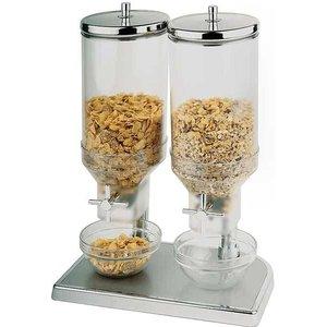 M & T  Cereals dispenser double 2 x 4,5 liter