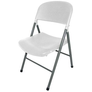 M&T Foldable chair white