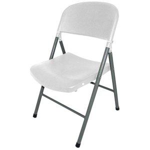 M&T Opklapbare stoel wit