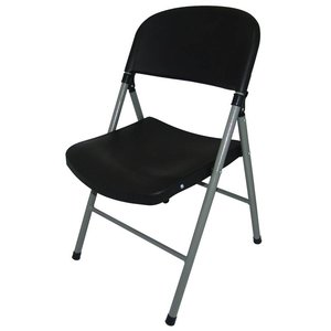 M&T Foldable chair black