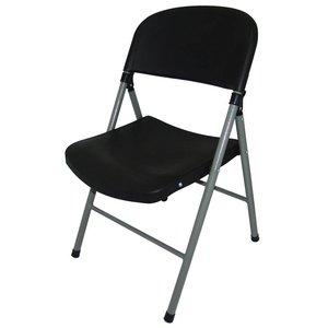 M&T Opklapbare stoel zwart