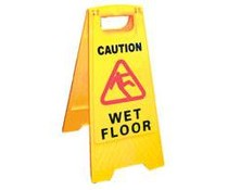 M&T Warning sign Wet Floor