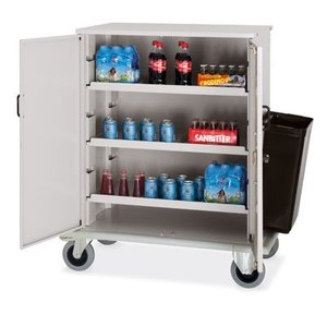 M&T Mini bar restocking trolley