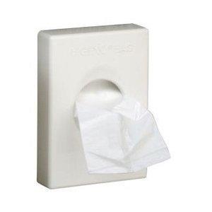 M & T  Support pour sacs hygiéniques ABS blanc