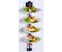 Plate Mate Wall-mounted plate rack for 6 plates