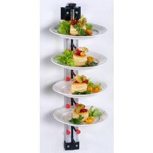 PLATE MATE  Bordenrek wandmodel voor 6 borden