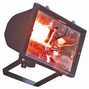 M & T  Infrared heat lamp wall mounted