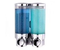 M&T Zeep & shampoo dispenser dubbel
