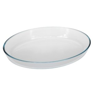Oven dish oval no lid 1,80 lit