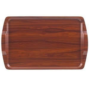 CAMBRO  Room service tray 64x40cm walnut