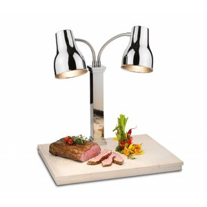 SPRING  Carving station , infrarood warmhoud lampen