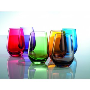 SCHOTT ZWIESEL Vina blue glass 39.7 cl